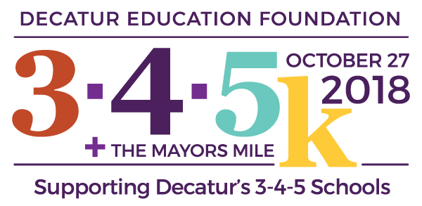 Sign Up for the Decatur 3-4-5K, October 27th