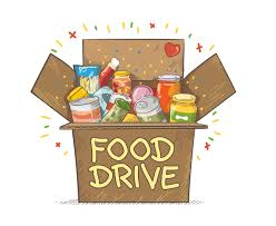 Food Drive - through this Friday!