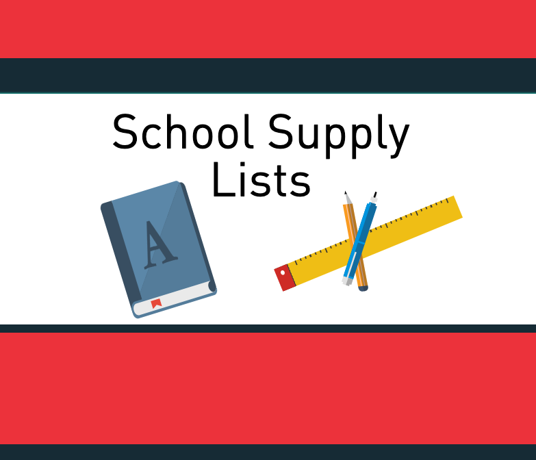 Talley Street 2019-2020 School Supply Lists