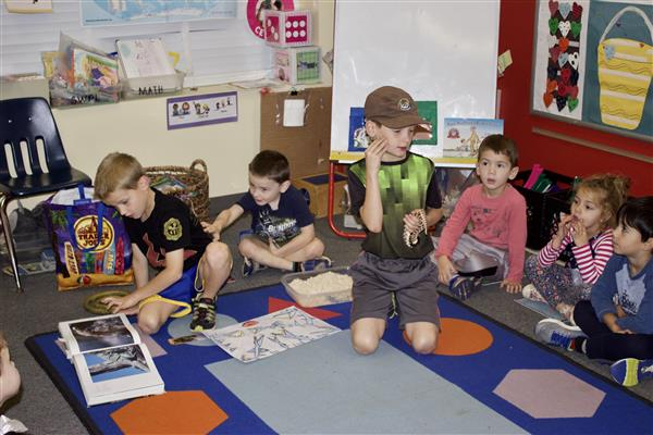Brothers Teach Pre-K Class about Snakes