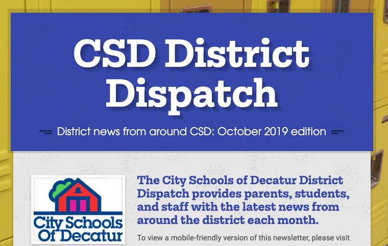 October District Dispatch