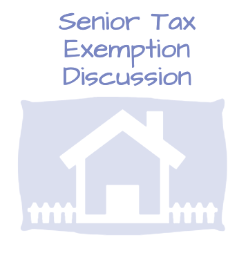 Update on Senior Homestead Exemption