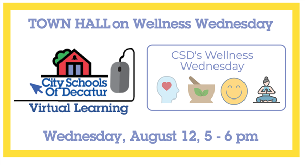 Recording of the Wellness Wednesday Town Hall: August 12, 2020