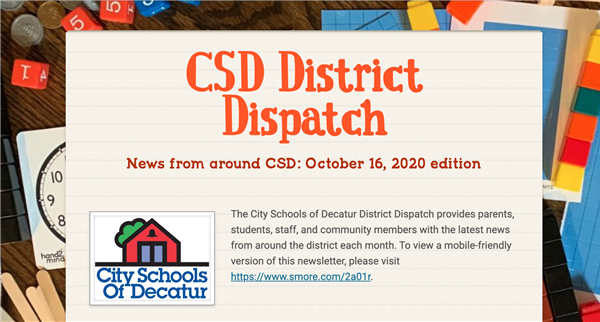 October 2020 District Dispatch