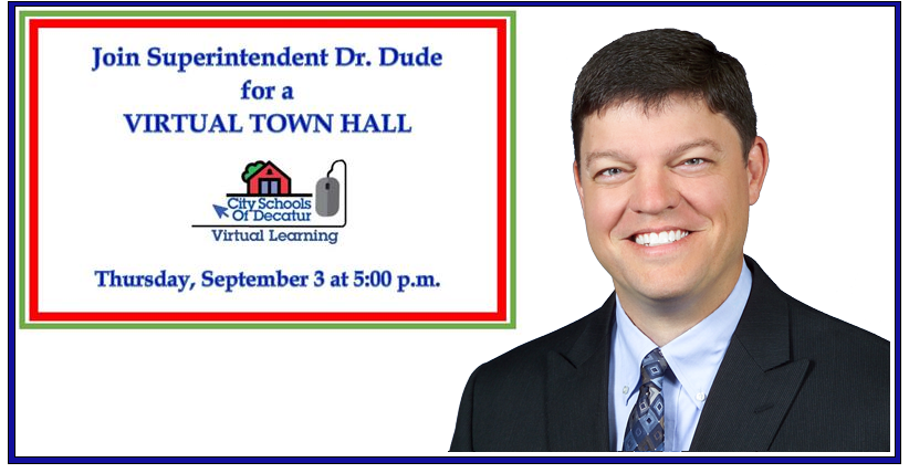 Video of the Superintendent's September 3 Town Hall
