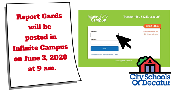 Spring Report Cards on Infinite Campus