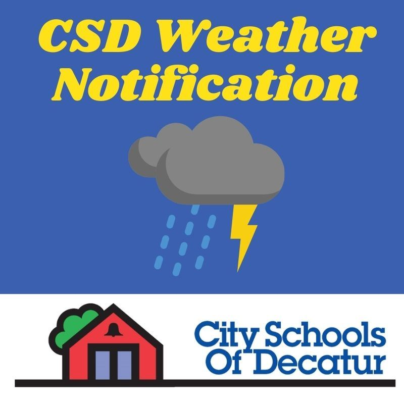 CSD Weather Notification